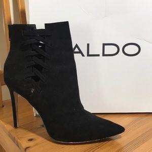 Aldo Tuxedo Booties